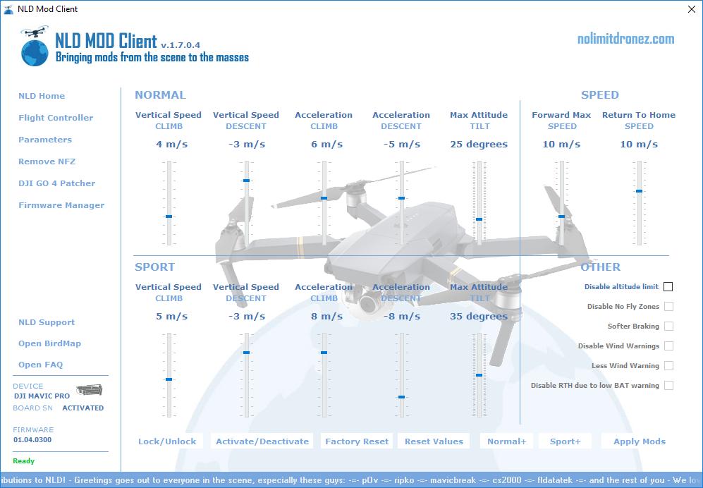 Nolimitdronez question | DJI Spark Drone Forum