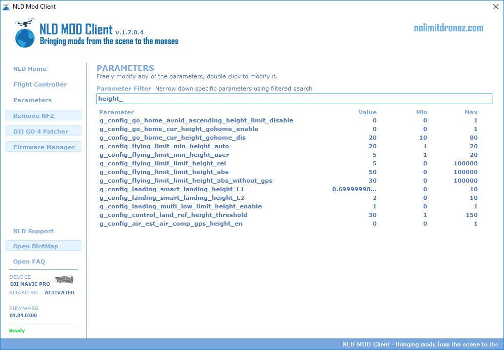Parameter Editor-nolimitdronez com