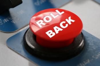 Firmware anti-rollback update