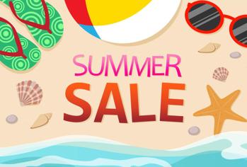 Pre-Summer Sale morphed into Summer Sale!